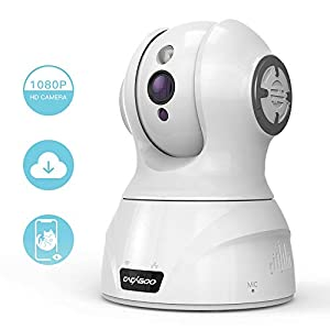 CACAGOO Security Camera WiFi IP Camera, 1080P Indoor Home Wireless Camera with Motion Detection Night Vision with 2-Way Audio for Baby/Pet/Elder