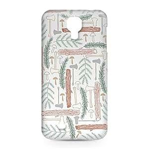 Green Wild Samsung S4 3D wrap around Case - Design 5