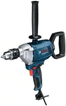 Bosch Professional GBM 1600 RE - Taladro sin percusión (850 W, Ø max perforación acero 16 mm, ...