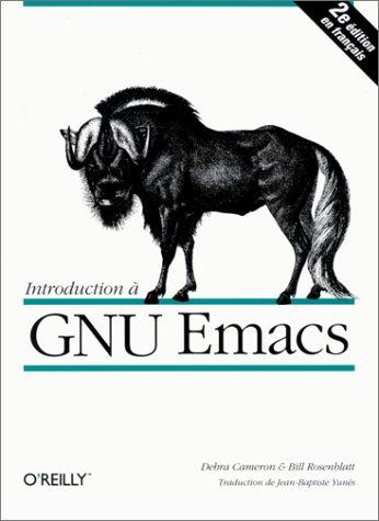 Introduction à GNU Emacs Debra Cameron