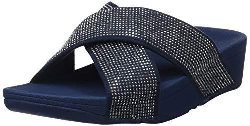 Ritzy Fitflop Para Navy Sandals Sandalias 399 midnight Mujer Slide Blue rHgxwdUr