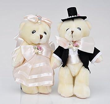 Mr & Mrs Oso De Peluche Pareja De Novios Decoración, celebración regalo