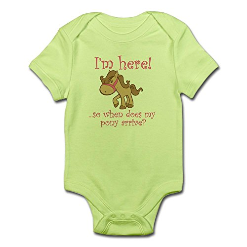 CafePress PONY Infant Bodysuit Romper