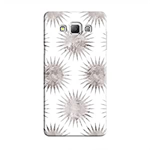 Cover It Up - Silver White Star Galaxy A8 Hard Case
