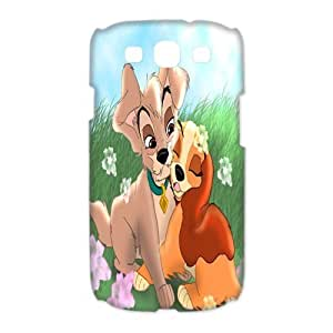 Mystic Zone Lady and The Tramp Samsung Galaxy S3 Case for Samsung Galaxy S3 Hard Cover Cartoon Fits Case HH0253 Kimberly Kurzendoerfer