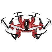 2.4G 4 Channel 6-Axis Gyro Nano Hexacopter Drone with CF Mode/One Key Return RTF RC Quadcopter -Red