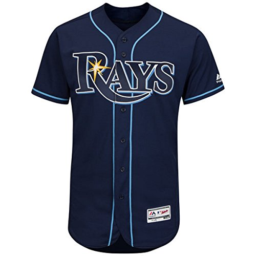 Tampa Bay Rays Youth Cool Base Alternate Jersey Navy (Youth Large (Jersey Boys Tampa Bay)