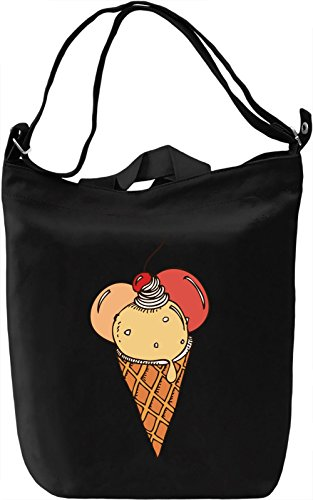 Fresh Ice Cream Borsa Giornaliera Canvas Canvas Day Bag| 100% Premium Cotton Canvas| DTG Printing|