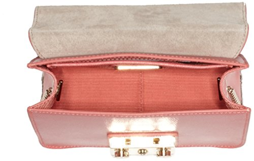 FURLA - Bolso de asas para mujer rosa Rosa Coral