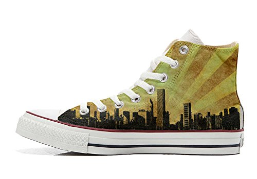 Converse All Star personalisierte Schuhe - HANDMADE SHOES - Chicago Style