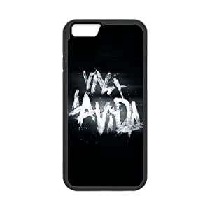 Coldplay Viva Lavida iPhone 6 Plus 5.5 Inch Cell Phone Case Black DIY Gift xxy002_5184280