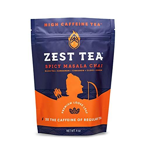 Zest Tea Té Energético Premium con Cafeína y Teína para activarte