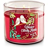Bath and Body Works Winter Candy Apple 3 Wick Candle-packaging may vary