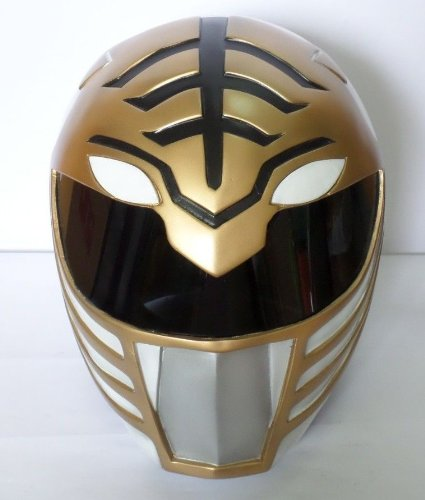 1:1 WEARABLE MIGHTY MORPHIN WHITE POWER RANGERS GOKAI HELMET COSTUME HELMET COSPLAY PROP MASK (Power Rangers Helmet)