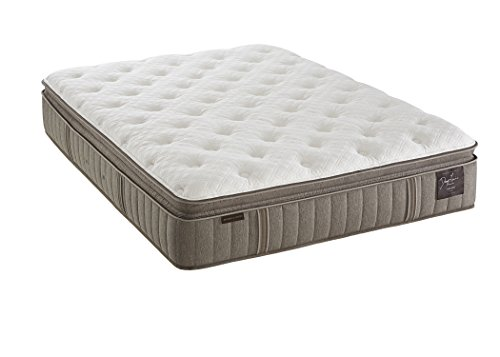 Stearns and Foster Estate Scarborough 14.5-inch Luxury Plush Euro Pillow Top Mattress, Queen