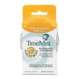 TimeMist 304607TMCT Fragrance Cup Refill, Acapulco Splash, 1oz (Case of 12)