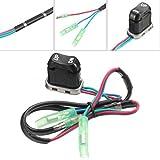 Baoblaze TRIM & TILT Switch A 703-82563-02-00 703-82563-01 For Yamaha Outboard Motors Remote Control