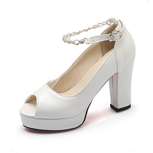 EU Ballerine 35 AN Bianco Donna White qxPw4ROaX