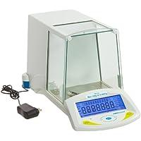 Adam Equipment Backlit LCD Display Analytical Balance, 0.0001g Readability