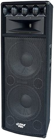Pyle - Portable Cabinet Pa Speaker System - 1600 Watt Outdoor Sound System