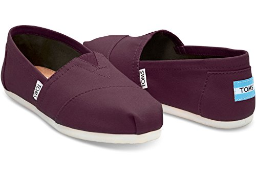 Toms Womens Canvas Classic Slip-on Shoes Red Mahogany wXSBo