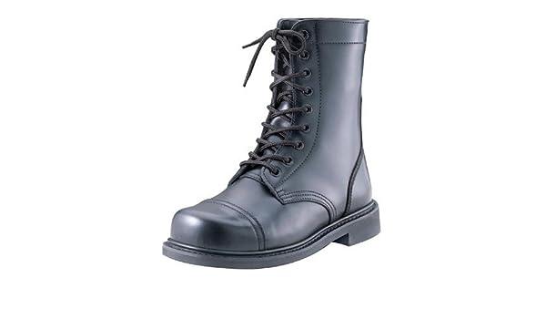 Amazon.com  Army Universe Black Leather GI Style Steel Toe Combat Boots  5092 Size 12  Clothing e304c941e81