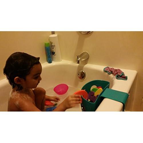 Chickadee Chicks Magnetic Bath Toy Storage Bin (Blue) - NO Suction ...