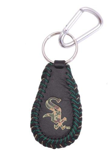 White Sox Camo - MLB Chicago White Sox Camouflage Baseball Keychain