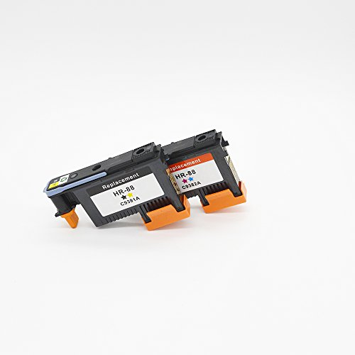 ZL Compatible Ink Cartridge Replacement for HP 88 Printhead C9381A C9382A For HP Officejet Pro K550 K550dtn K55dtwm K5300 K5400 K5400tn K5400dn K5400dtn 88 Officejet Printhead