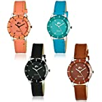 Acnos Analogue Multicolour Dial Women's Watch – Pack of 4