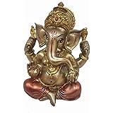 PRINTELLIGENT Handmade Lord Ganesha Spiritual Idols Puja Room - Vastu - Religious Showpiece Gift Item