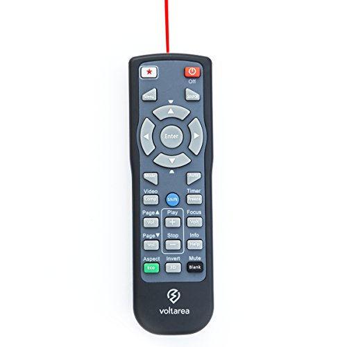 Remote Control for Epson VS320 Projector with Laser Pointer by Voltarea