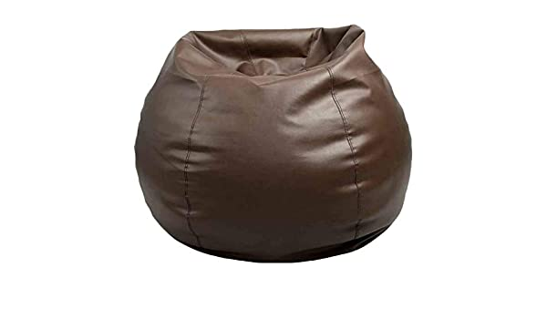 Terrific Amazon Com Cozy Signature Bean Bag Cover Without Bean Brown Pabps2019 Chair Design Images Pabps2019Com