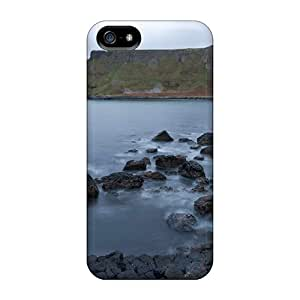 New Style Case Cover QpZGB3124Wqkss Nature Mountains Giant Track Ireland Compatible With Iphone 5/5s Protection Case
