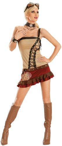 Adult Sexy Steampunk Costume - Medium