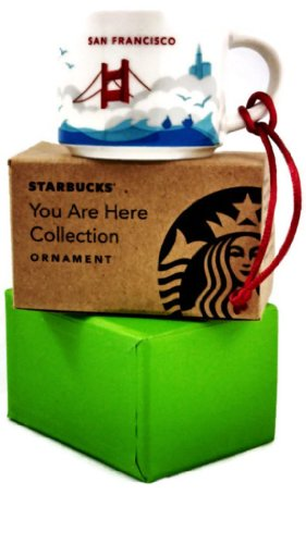 Starbucks Ornaments San Francisco You Are Here Collection St