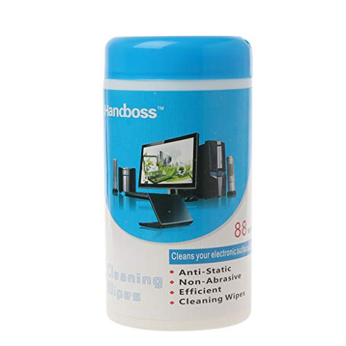 SimpleLife Reinigingsdoekjes Computer LCD TV Mobiele Telefoon Scherm Camera Lens Reinigingsdoekjes, 17 x 9,5 cm, 88…