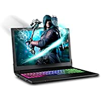"SAGER NP6852 15.6"" FHD IPS Gaming Laptop Intel i7-7700HQ, NVIDIA GeForce GTX 1050Ti 4GB GDDR5, 16GB RAM, 250GB M.2 SSD + 1TB HDD, Windows 10 Home"