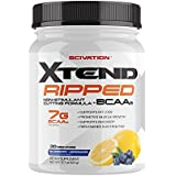 Scivation Xtend Ripped BCAA Powder, Branched Chain Amino Acids, BCAAs, Blueberry Lemonade, 30 Serving