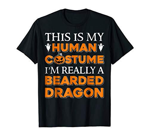 This Is My Costume I'm Really A Bearded Dragon T shirt ()