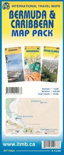 Map Pack - Bermuda & Caribbean by ITMB Publishing Ltd. (2014-03-31)