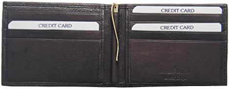 Men's Front Pocket Money Clip Wallet, Hand Crafted, Genuine Leather