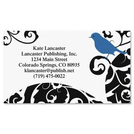 Calling Card Set (Distinctive Bird Business Cards - Set of 250 2