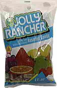 Jolly Rancher Hard Candy in Original Flavors, 7-Ounce Peg Bag (Pack of 36) by Jolly Rancher