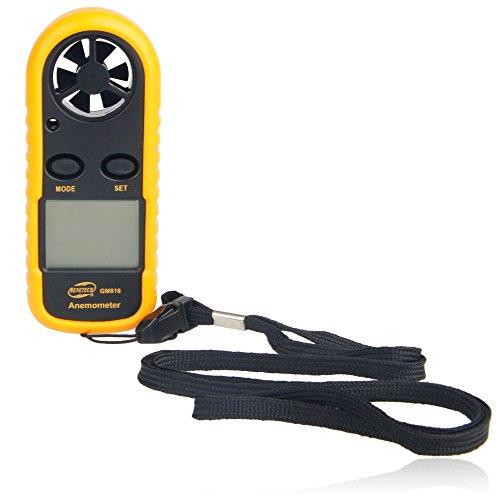 Firekingdom Nenetech Gm816 Mini Pocket-size LCD Display Digital Wind Speed Anemometer