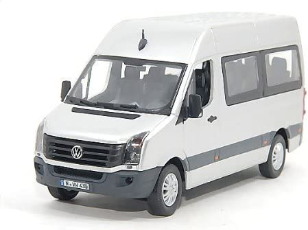 Vw Crafter Bus Silber Facelift Modellauto Fertigmodell Premium Classixxs 1 43 Spielzeug