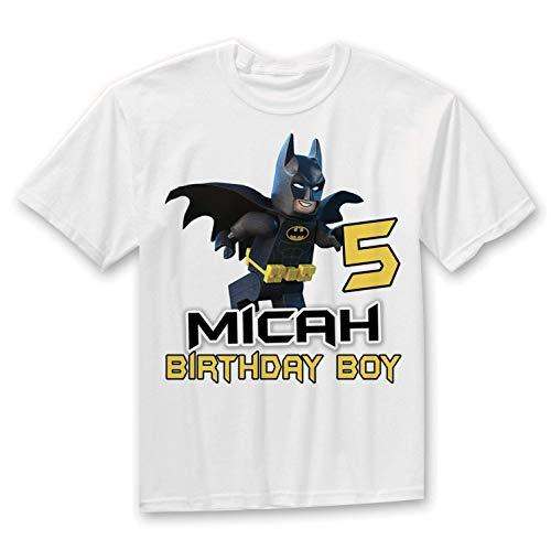 Amazon Batman Birthday Shirt Super Hero Handmade