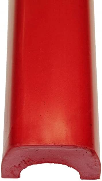 Red FIA Approved Roll Bar Padding BSCI Fits 1 3//4-2 bar diameter