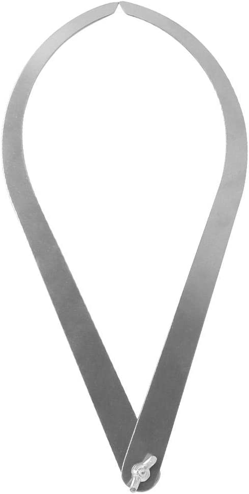 Herramienta de madera de cer/ámica de calibre de acero inoxidable de 10 pulgadas con patas curvadas para escultura de escultura de arcilla. Atyhao