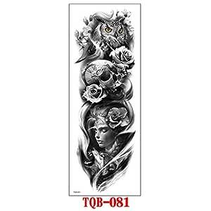 7pcs Budismo pieza del tatuaje etiqueta engomada del tatuaje ...